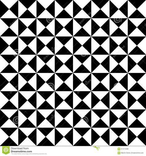 Midcentury Modern Fabric - vector modern seamless geometry pattern tiles black and white abstract stock vector image