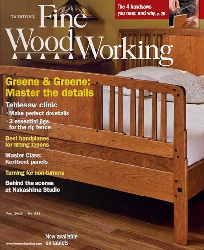 revista fine woodworking  febrero  hq