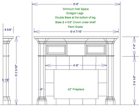 fireplace mantel plans fireplace mantle plans plans free