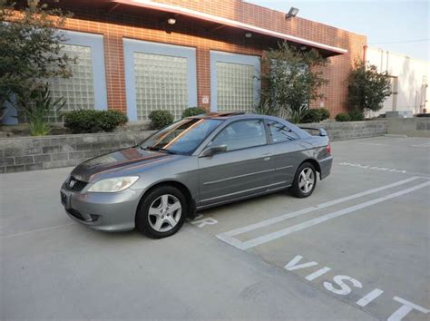 2004 honda civic ex 2dr coupe in nuys ca low price