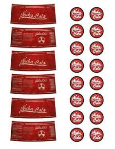 nuka cola cap template sheet of nuka cola labels by emptysamurai on deviantart