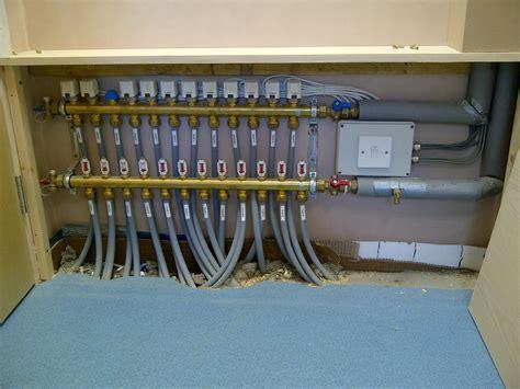 underfloor heating manifold schematic wiring diagrams