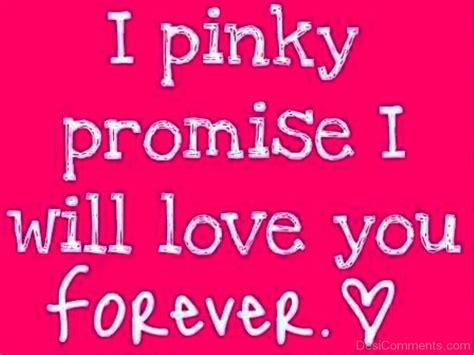 images with i promise you love forever i pinky promise i will love you forever desicomments com