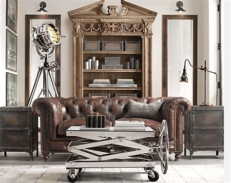 Industrial Home Decor Create A Warm Industrial Living Space Amazing Design For Less