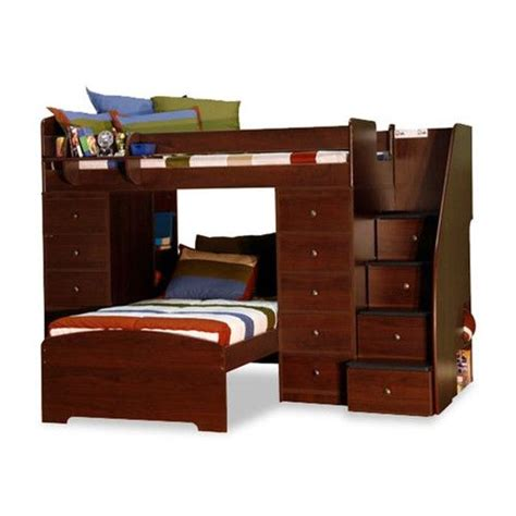 L Shaped Bunk Beds With Storage Space Saver L Shaped Bunk Bed With Stairs And Storage Tw