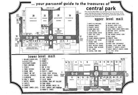 park city mall map louisiana and southern malls and retail