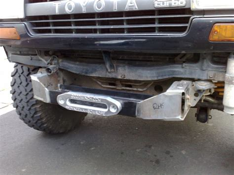 winch fitting land cruiser club