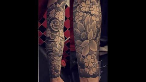 tatuajes para hombre y mujer de flores japonesas doovi