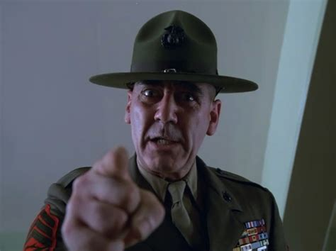 gunnery sergeant r ermey metal jacket quotes quotesgram