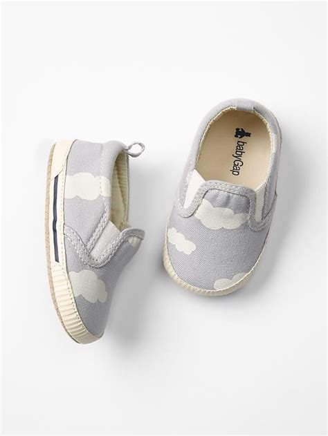 baby gap shoes gap baby cloud slip on sneakers size 18 24 m