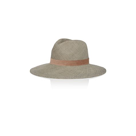 janessa s panama hat in gray lyst