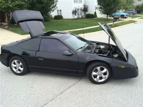 where to buy car manuals 1986 pontiac fiero regenerative braking sell used 1986 black pontiac fiero gt in indianapolis indiana united states for us 4 000 00