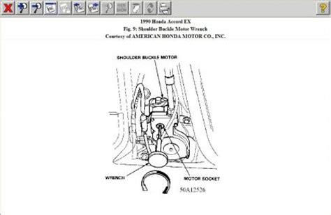 motor repair manual 1993 honda accord seat position control 1990 honda accord power seat belt ok first i am 16 years old and