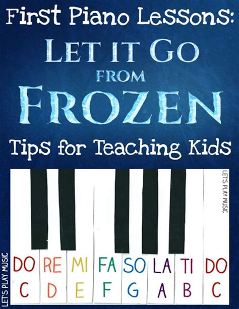 tutorial keyboard let it go easy piano let it go from frozen piano lessons pianos