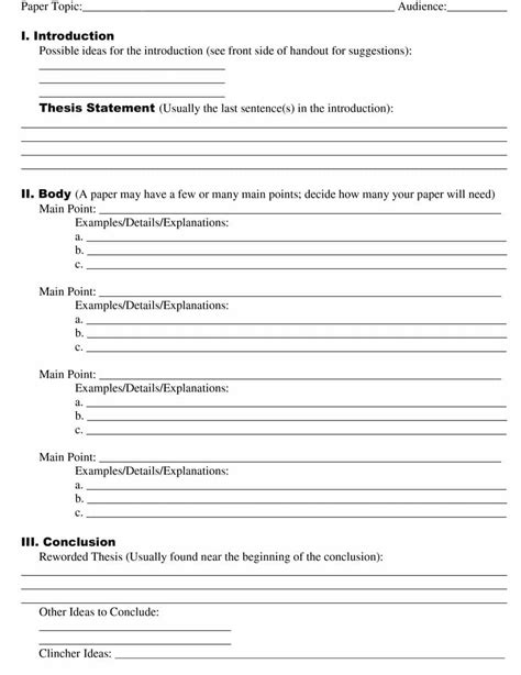 research template choose from 40 research templates exles 100