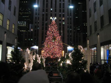 nbc rockefeller center christmas tree lighting christmas