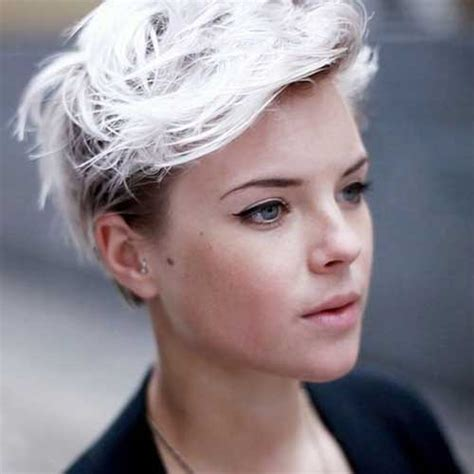 short platinum hairstyles for women 20 short cropped haircuts short hairstyles 2017 2018
