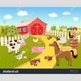 Cartoon Farm Scene | 1500 x 1233 jpeg 474kB