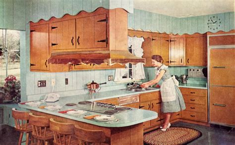 1950s kitchen interior retro kitchen renovation country kitchens