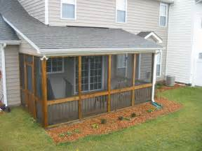 Screened Patio Designs Outdoor Screened Patio Designs With Drainage Ditch