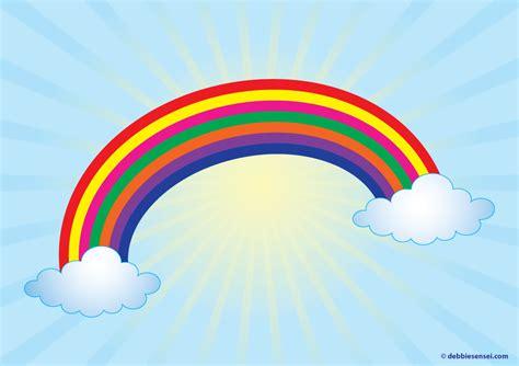 debbie sensei  esl rainbow flashcard