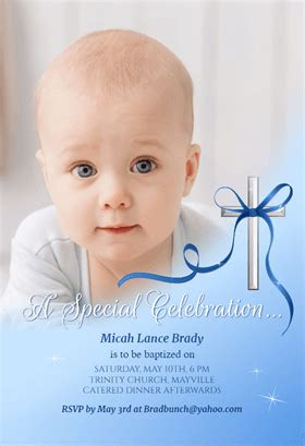 Baby Special Celebration Free Printable Baptism Christening Invitation Template Greetings Free Christening Invitation Template For Baby Boy