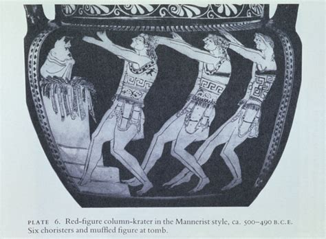 Classical Vase 206 Classical Greek Theatre Classical Drama And Theatre