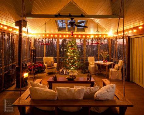 screen porch decorating ideas outdoor christmas decorating ideas for an amazing porch