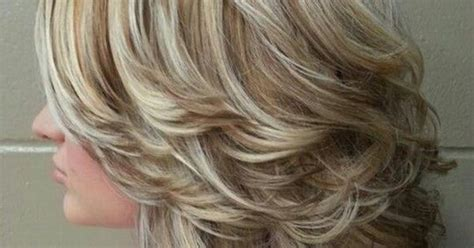 layred hairstyles eith high low lifhts high and low lights medium with layers and curls wave