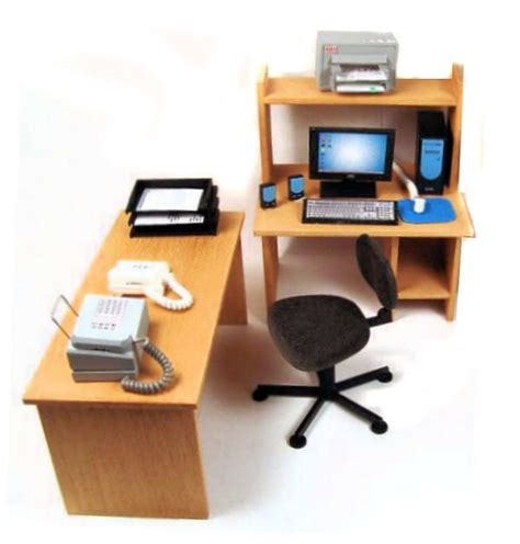 dollhouse office furniture miniature office furniture contemporary office furniture