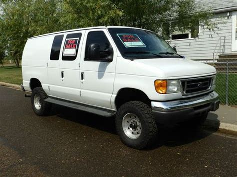 how to sell used cars 2005 ford e250 parking system purchase used 2005 ford e350 econoline van quigley 4wd conversion 6 0l diesel powerstroke in