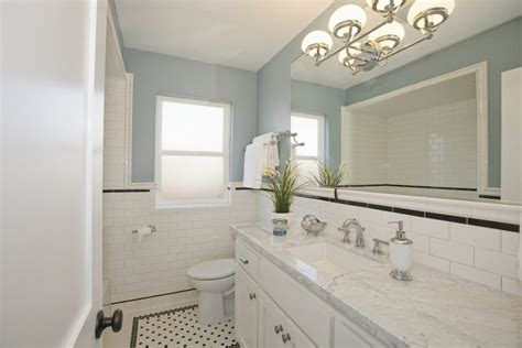 craftsman mirrors bathroom nantucket bathrooms bathroom beach style with white tiles
