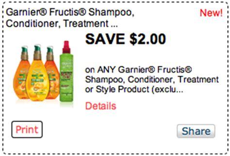 Garnier Fructis Printable Coupon big 2 garnier fructis coupon only 0 99 at kroger