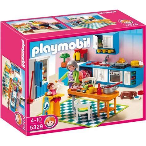 cuisine playmobil playmobil 5329 cuisine achat vente univers miniature