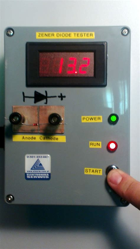 Tv Zener zener diodes tester with current source lm334