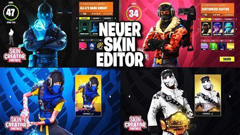 fortnite skin creator so k 246 nnte der neue skin editor in fortnite aussehen