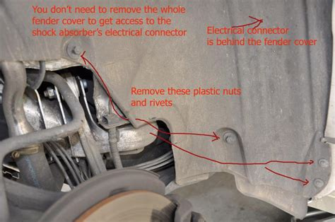 how to remove rear shock on a 2008 aston martin dbs diy replacing an airmatic self leveling rear shock