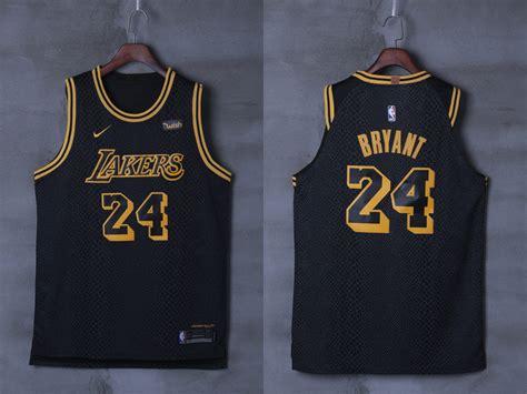 Jersey Authentic Nike Bryant Lakers Black Nba Stitched Jersey Sz jerseys