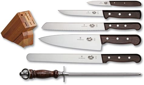 kitchen knives sets vn46054 victorinox 6 piece kitchen knife set