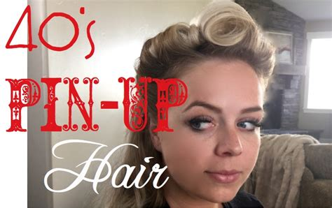 40 S Pin Up Hairstyles by 40s Hairstyles Tutorial Hairstyles