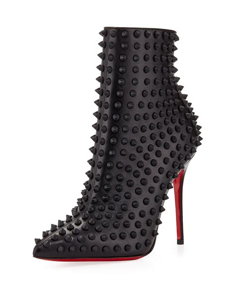 Christian Louboutin Ankle Boot by Christian Louboutin Snakilta Spiked Sole Ankle Boot