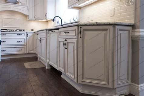 New Jersey Kitchen Cabinets by Wellington Ivory Glaze Luxcraft Cabinets