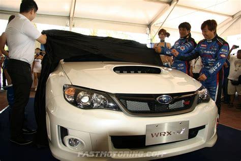 subaru impreza malaysia brz sti launch autos weblog