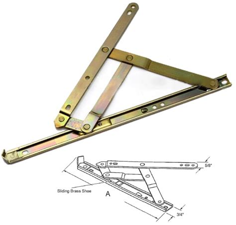 awning window hinge truth hardware 4 bar awning and casement window hinge