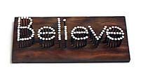 believe home decor quot believe quot nail plaque lifeway christian home decor