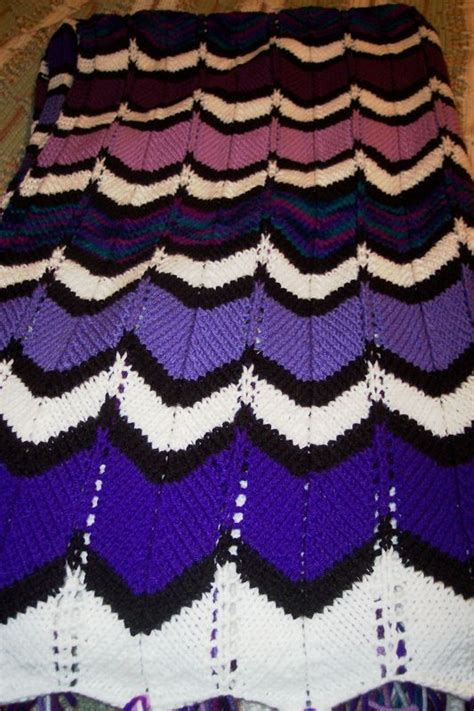 mary maxim free easy zigzag afghan knit pattern knitting pattern zig zag afghan anaf info for