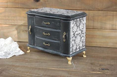 black jewelry box armoire jewelry box music box jewelry armoire shabby chic
