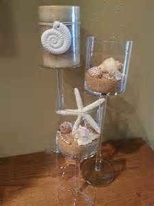 my beach themed centerpieces my real wedding pinterest creative starfish and beaches