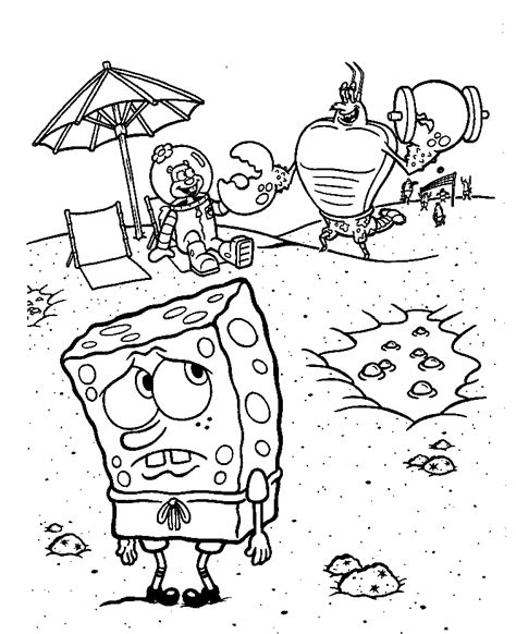 gary from spongebob squarepants az coloring pages