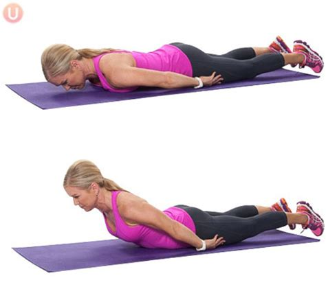 a effective exercise to correct your posture and remove lower back